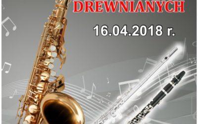 WYNIKI  II Konkursu Instrumentów Dętych Drewnianych Błażowa, 16 kwietnia 2018 r.