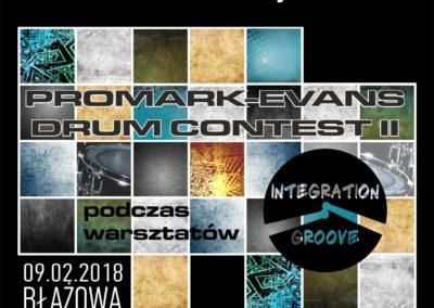 PROMARK – EVANS DRUM CONTEST II (09.02.2018 r.)