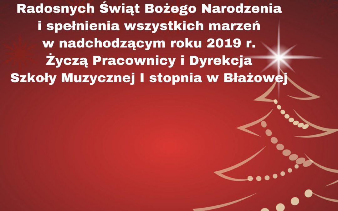 Życzenia świąteczne!!!