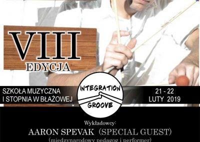 Warsztaty Perkusyjne Integration&Groove VIII 21-22.02.2019 r.