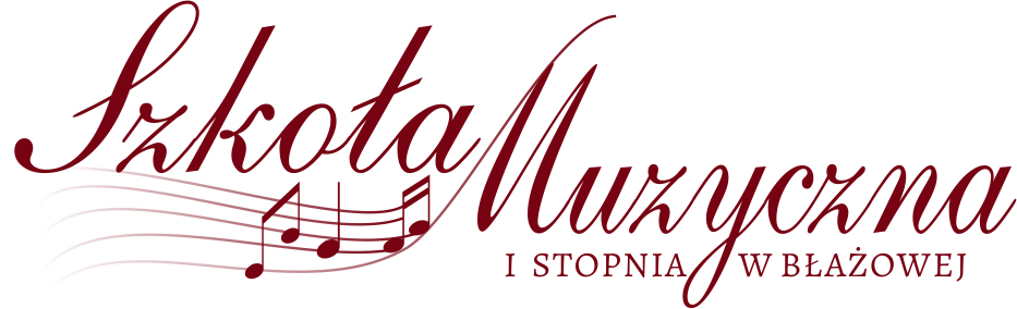 Lista kandydatów przyjętych do Szkoły Muzycznej I stopnia w Błażowej na rok szkolny 2020/2021